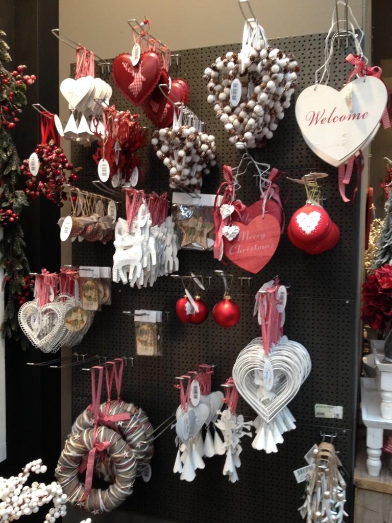 rode kerst accessoires