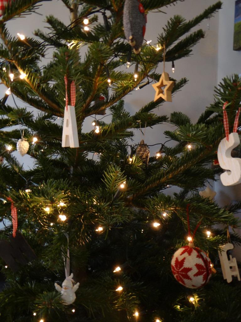kerstboom thuis