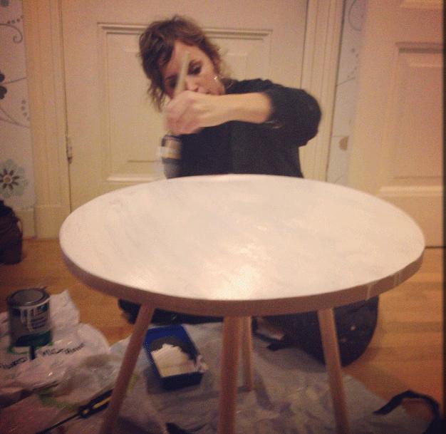 schilderen tafeltje