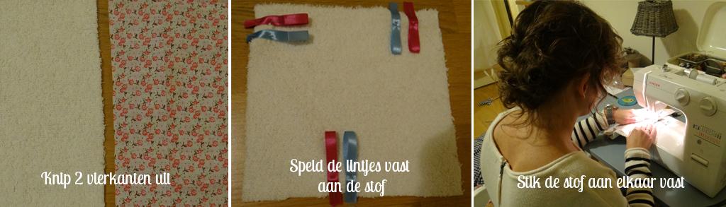 Babydoekje DIY stappen