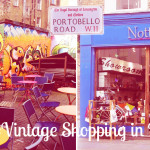 Vintage markt in Notting Hill