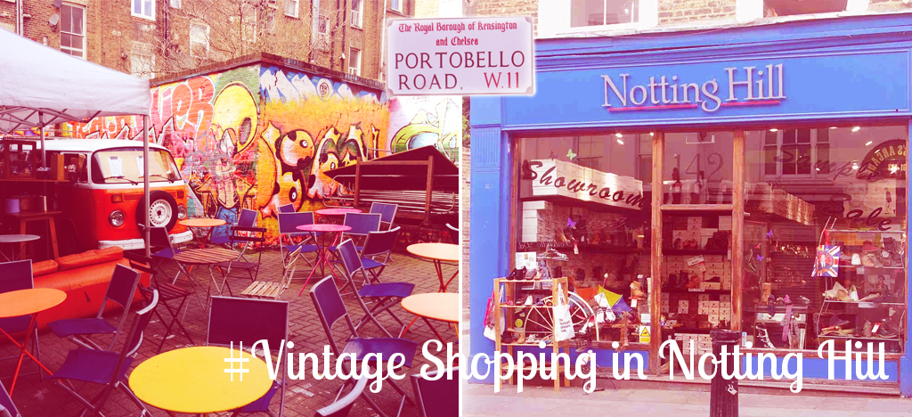 Vintage shopping notting hill