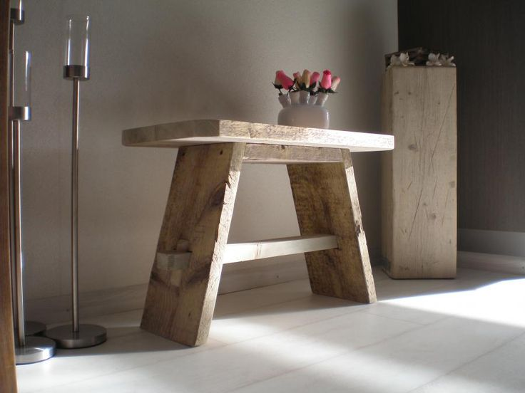 Steigerhout in je interieur diy livelovehome for Sidetable steigerhout