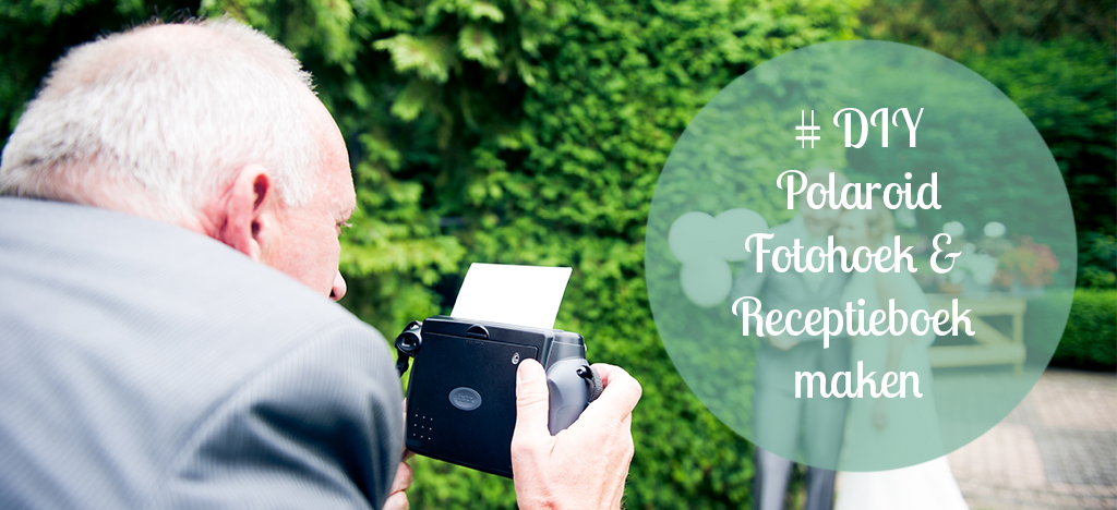 diy polaroid fotohoek
