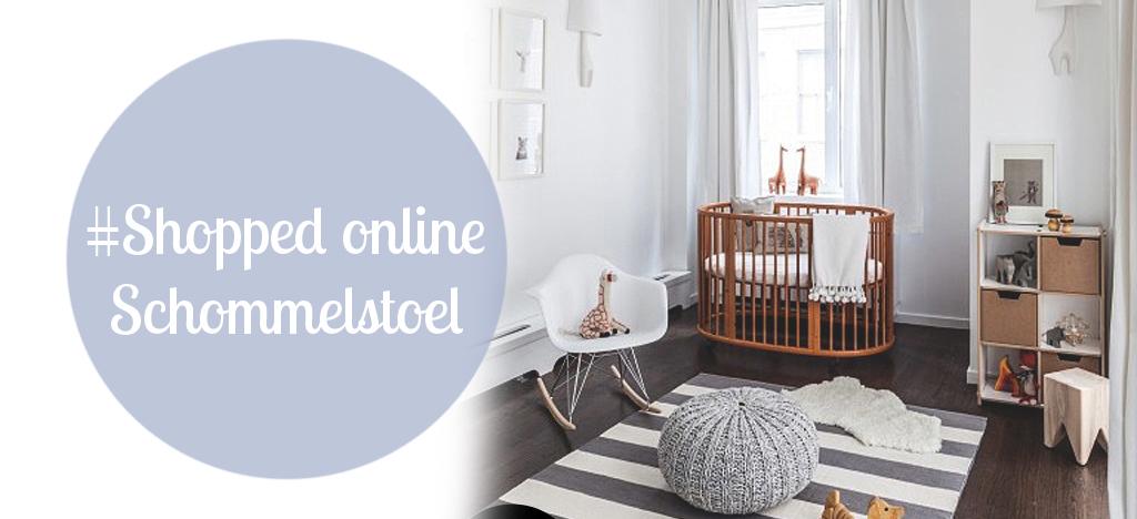 Eames Schommelstoel Babykamer.Shopped Online Charles Rar Schommelstoel Wit Livelovehome