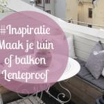 Inspiratie: Maak je tuin of balkon voorjaarsproef