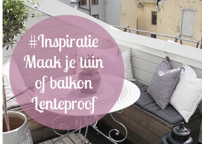Tuin Inspiratie Balkon Inspiratie Maak je Tuin of
