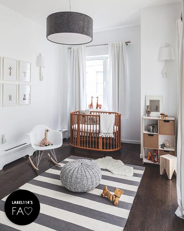 Eames RAR stoel op babykamer