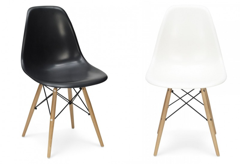 Shoplog nieuwe eetkamerstoelen livelovehomenl for James eames dsw
