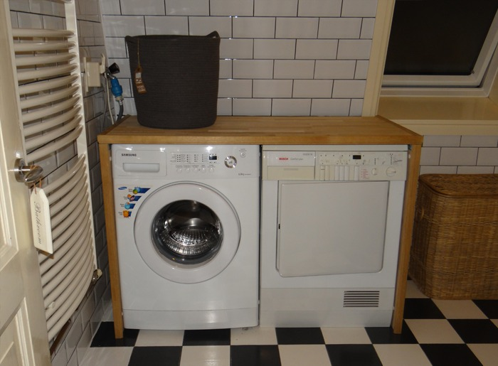 DIY project wasmachine ombouw - LiveLoveHome