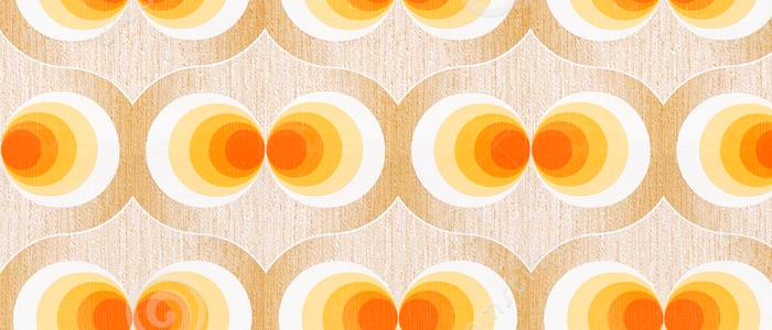 Koningsdag kleur inspiratie oranje - Behang van de jaren ...