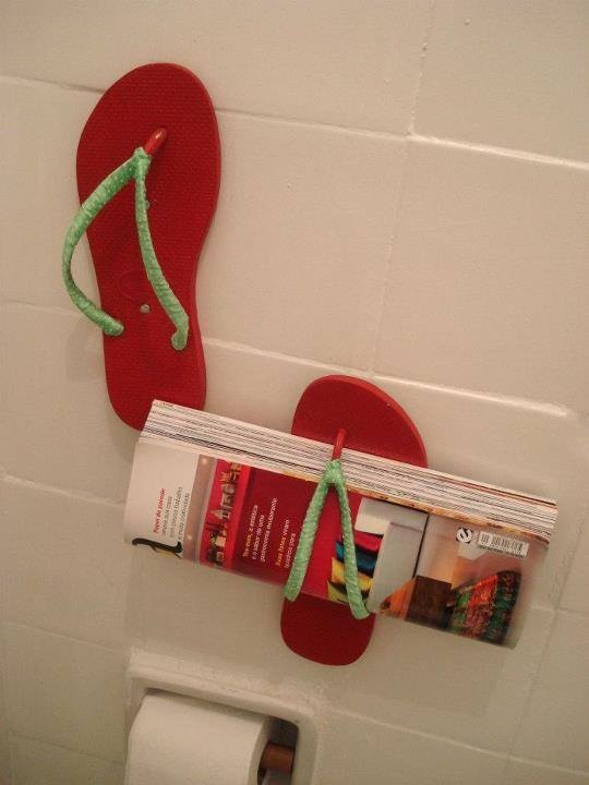 tijdschriftenrek slippers