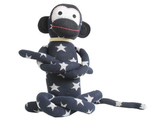 Stoffen knuffel aap