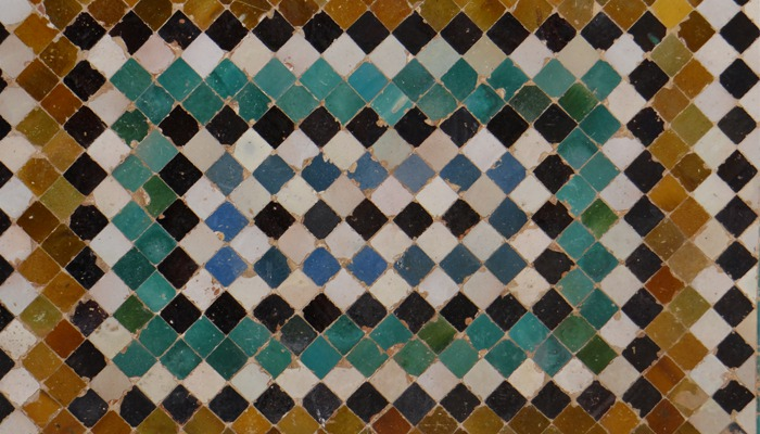 tegels uit andalusie patronen