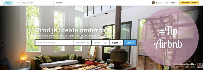 airbnb zoeken huizen