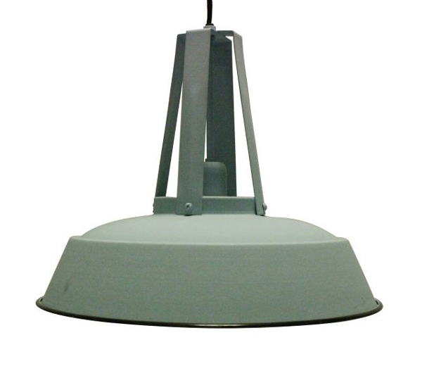 Mini Make Over - Industriele lampen op de overloop.