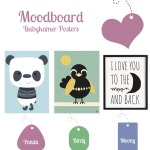 Moodboard: Babykamer Poster
