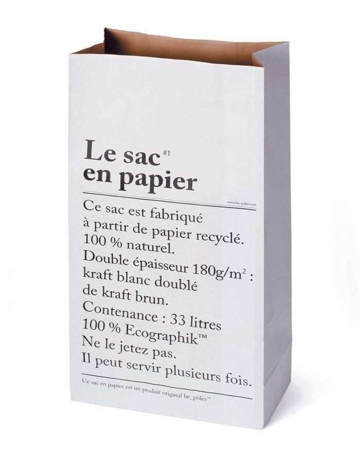 de papieren zak