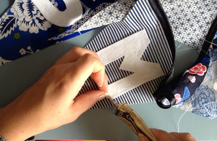 Geliefde DIY: Vlaggenlijn maken - LiveLoveHome &EJ94