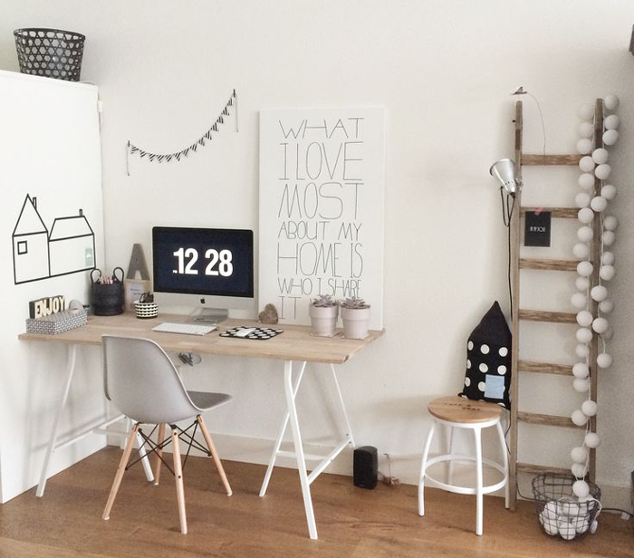 Inspiratie zwart wit in je interieur livelovehome - Gang wit en grijs ...
