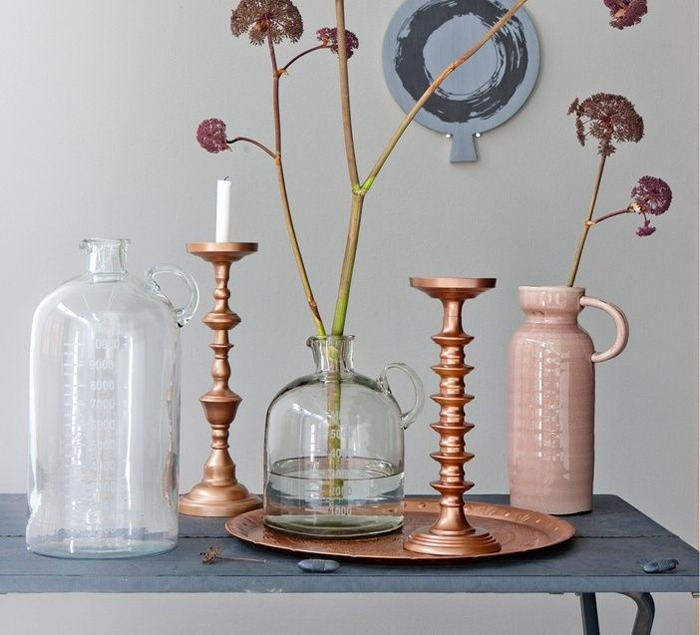 Inspiratie koper in je interieur livelovehome for Interieur accessoires