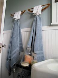 haken badkamer