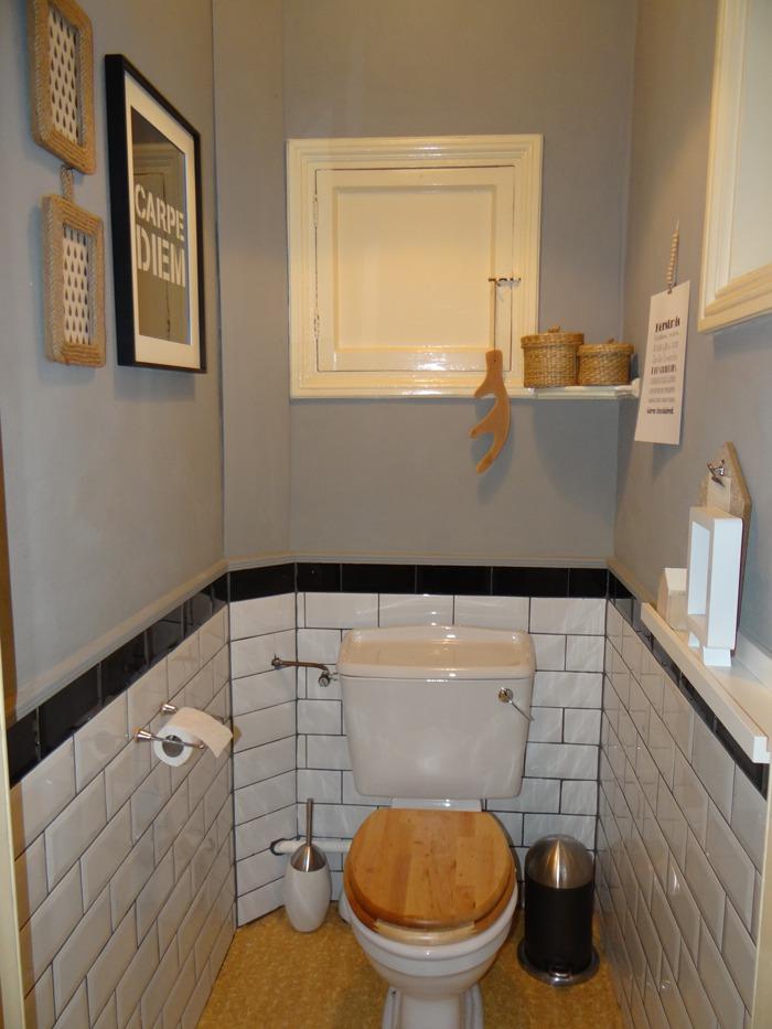 Inspiratie het toilet stylen - Kleur voor toilet ...