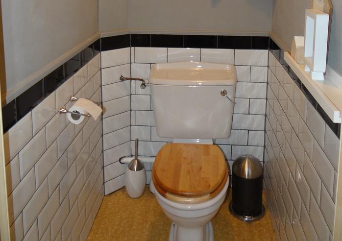 Inspiratie het toilet stylen - Muur wc ...