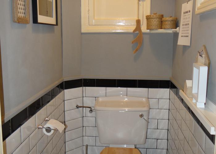 Inspiratie het toilet stylen - Wc zwart wit ...