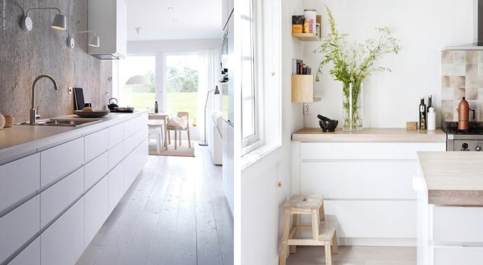 Witte Keukens Met Grijs Werkblad : Witte greeploze keuken met grijs ...