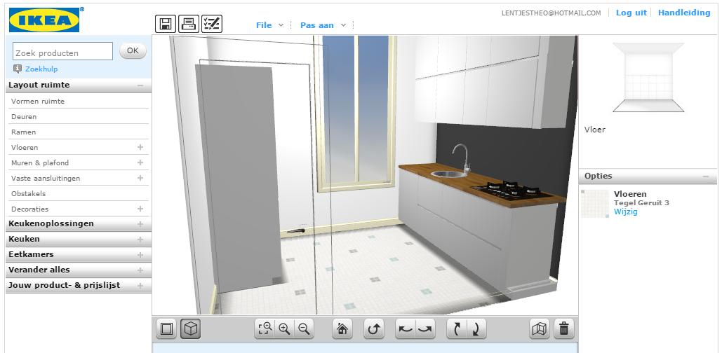 Ikea Keukenplanner : Het resultaat: onze nieuwe keuken in de Ikea keukenplanner.