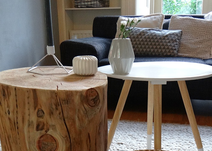 Boomstam wordt salontafel   LiveLoveHome