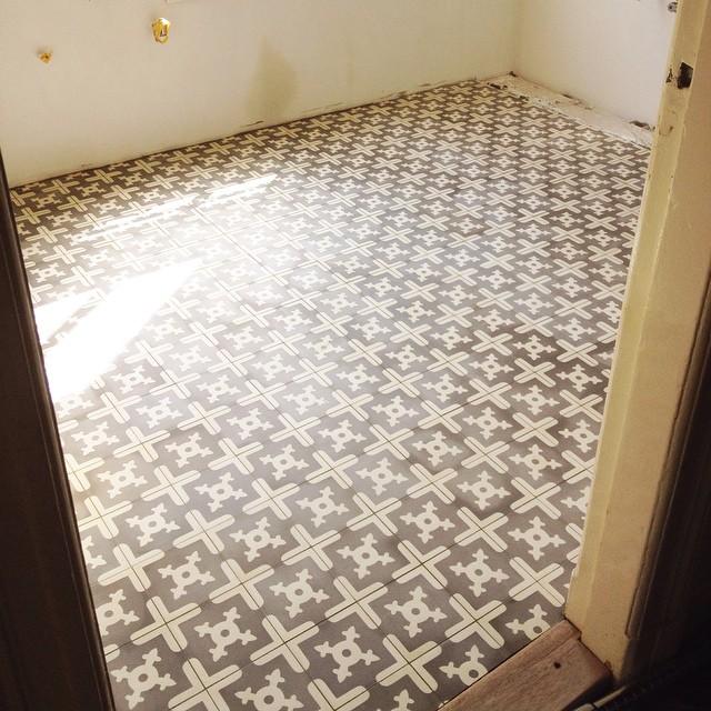 spaanse tegels vloer