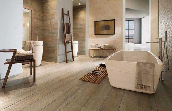 houten badkamervloer