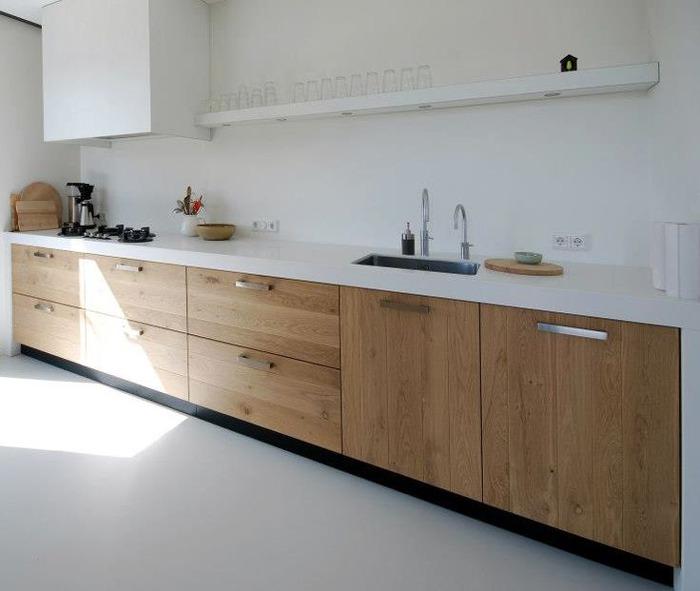 Keuken Grijs Hout : Keukenvloer: Van Portugese tegels tot beton