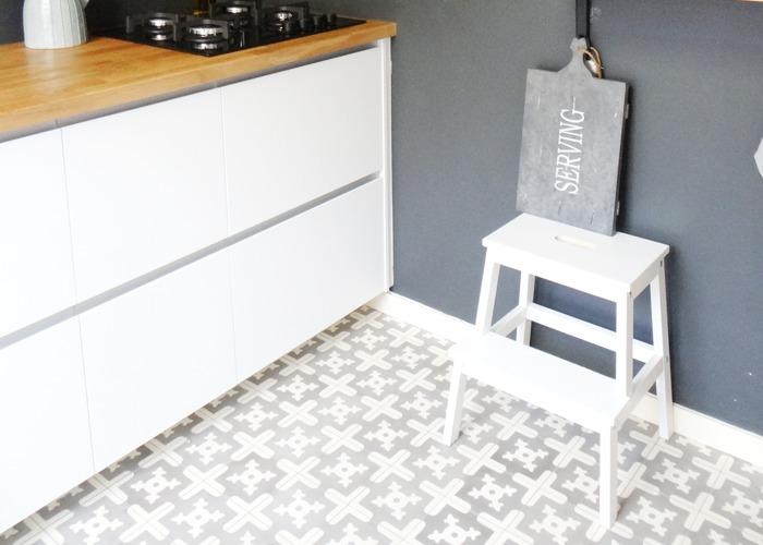 Portugese Tegels Keuken : Keukenvloer: van portugese tegels tot beton