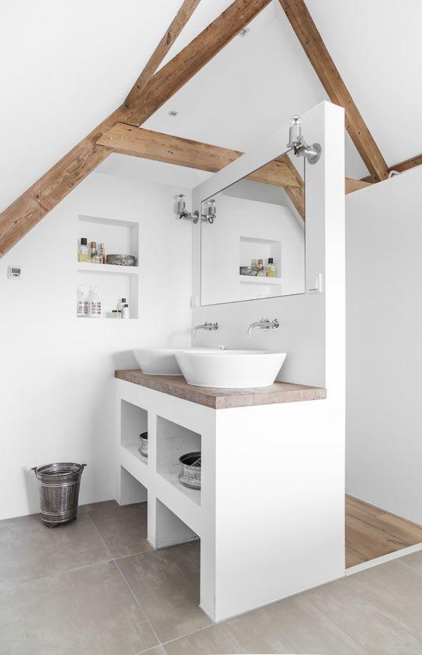 Badkamer inspiratie meubels livelovehome - Houten meubels voor badkamers ...