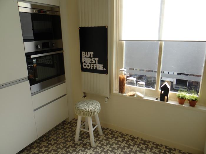 poster keuken hoek