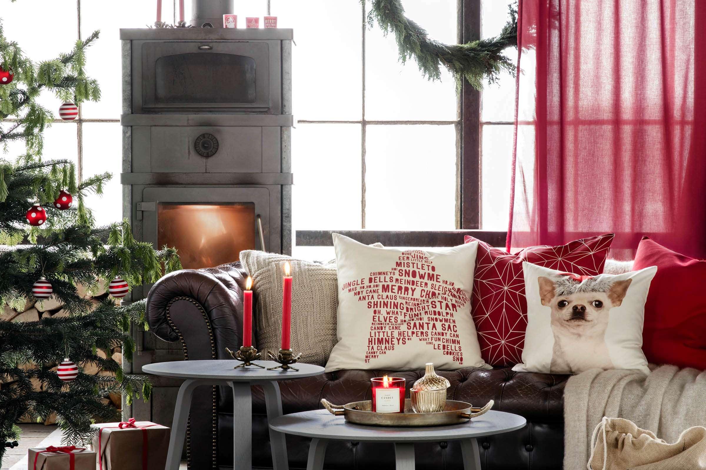 kerst traditioneel rood