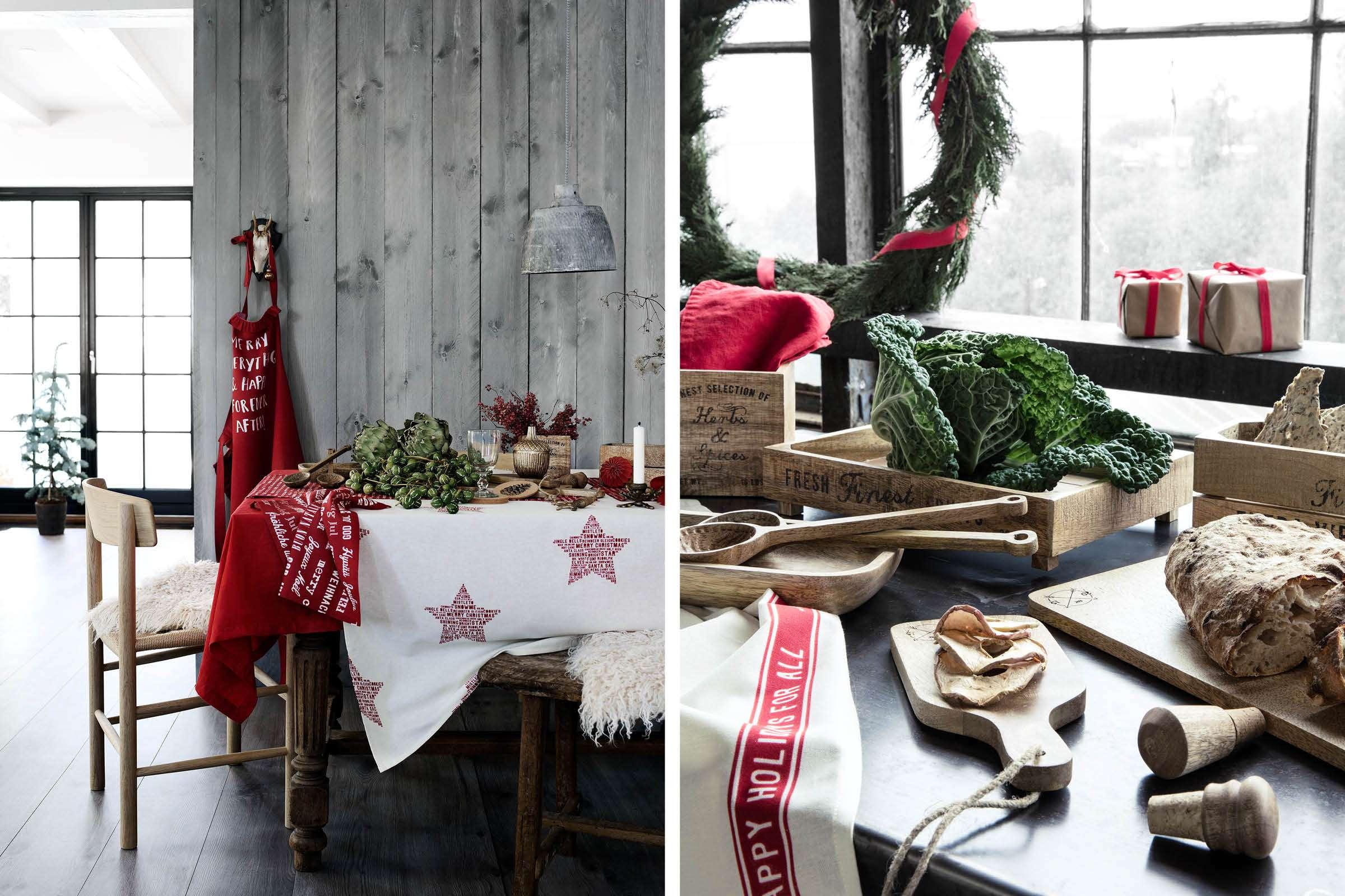 tradtioneel rode kerst