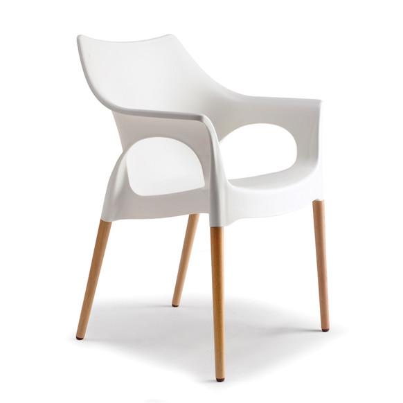 Nieuwe stoel voor de slaapkamer livelovehome for Witte kunstof eetkamerstoelen