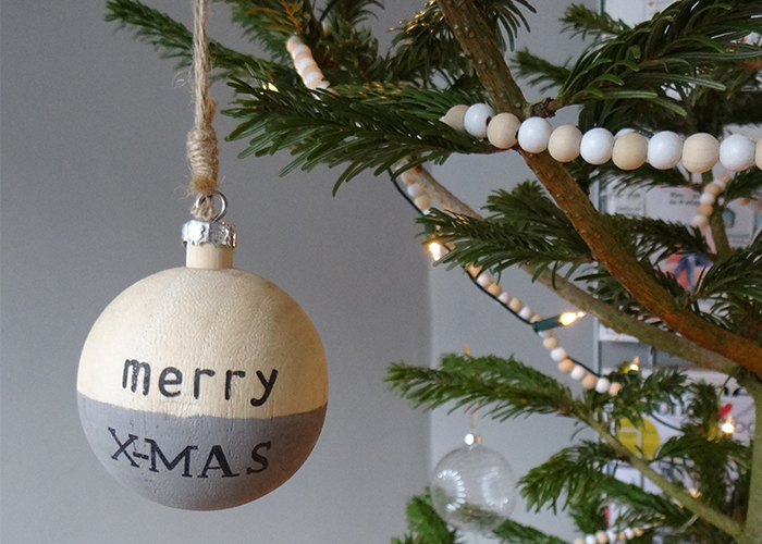 kerstversiering kerstbal merry christmas