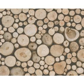 houten behang