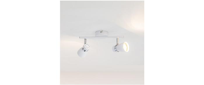 Naast plafond spotjes kwam ik ook dit leuke klemlampje tegen. Wat een ...