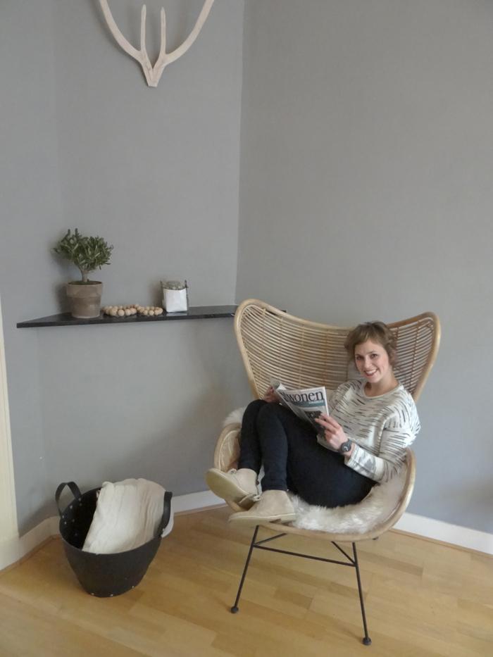Liefde op het eerste gezicht egg chair hk living livelovehome - Rotanbank plaatsen ...