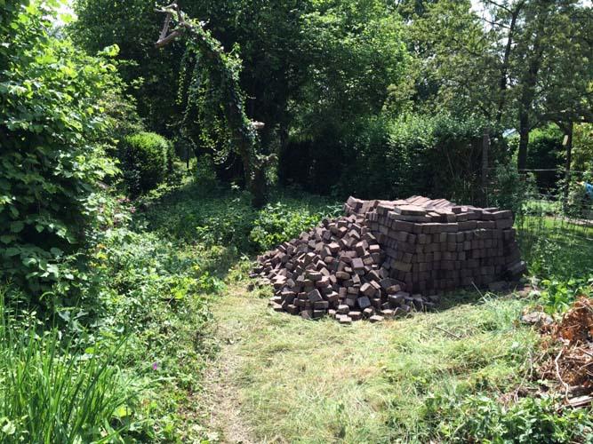 stenen voor de achtertuin