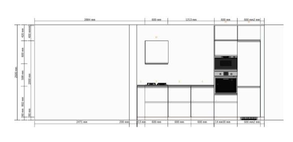 keuken IKEA tekening