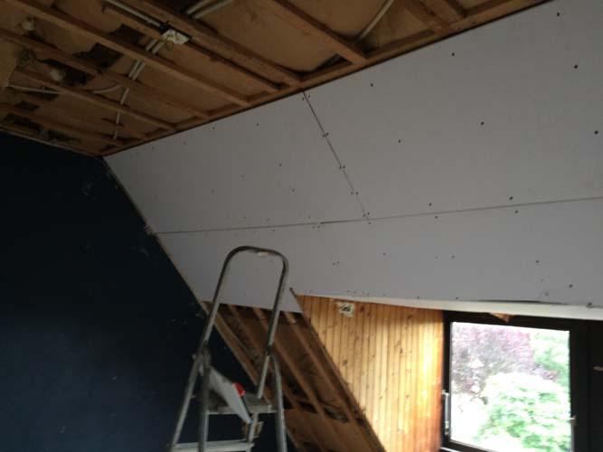 gipsplafond maken