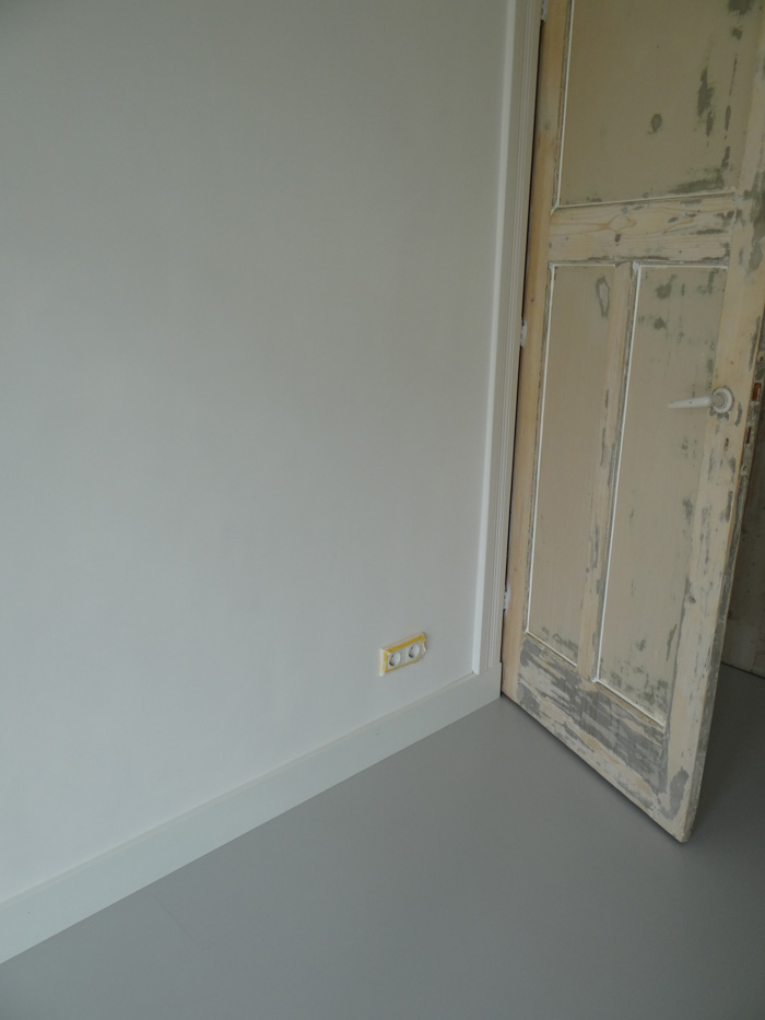 laminaat gietvloer deur