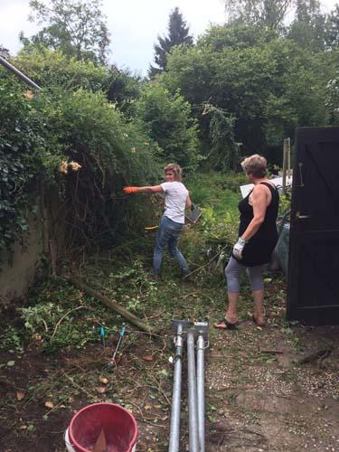 Tuinieren in actie